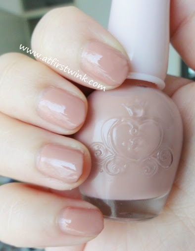 Etude House nail polish DPK003 - Piggy Pink