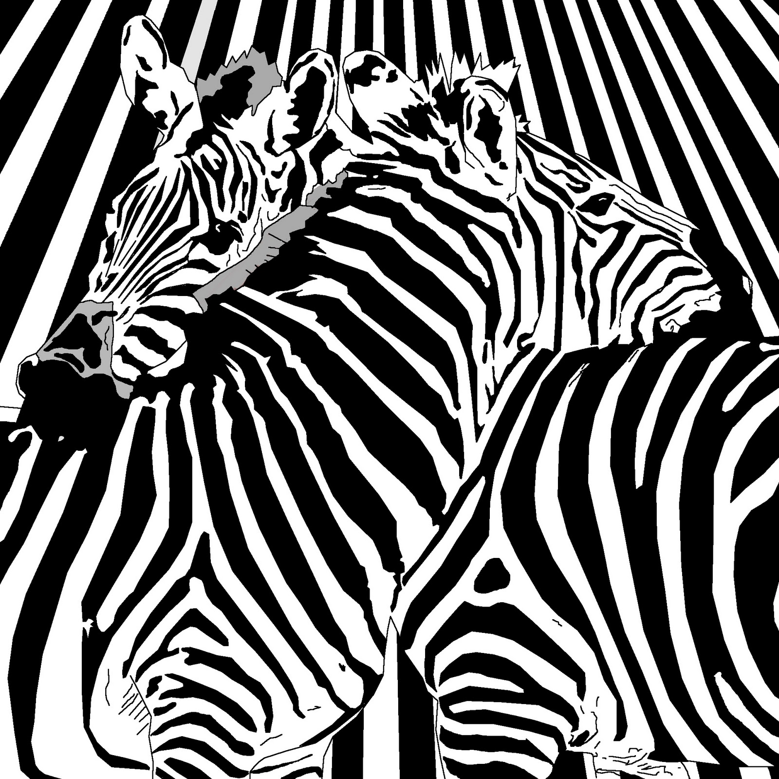 Zebra Pattern Simple Inspiration