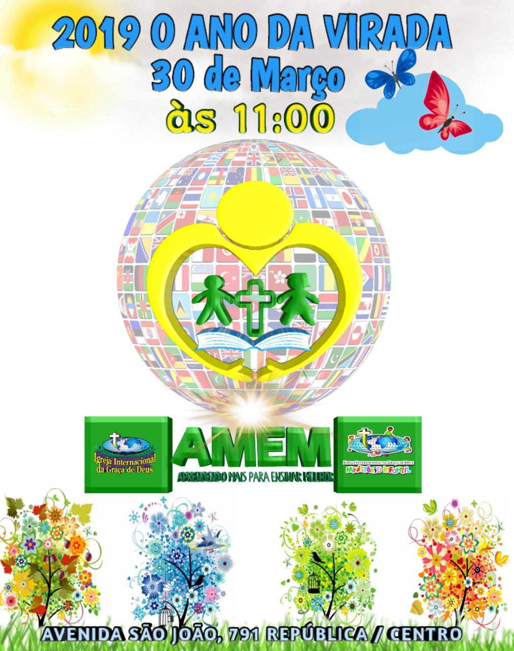 PRIMEIRO AMEM DE 2019