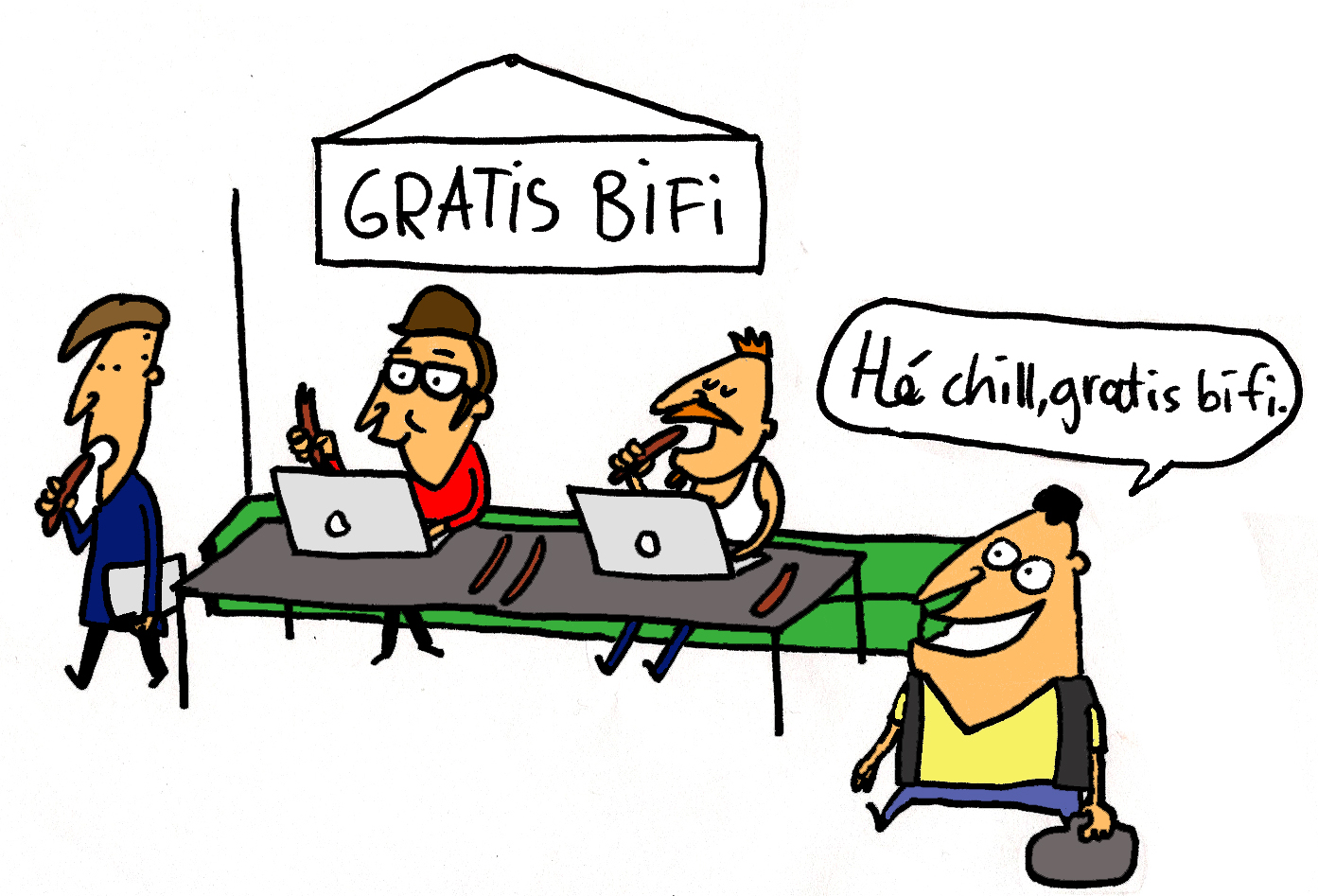 Cartoon bifi