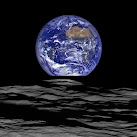 NASA Releases Stunning Image Of Earth Rising Over Moon