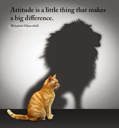 Life is truly about ATTITUDE and CHOICES.