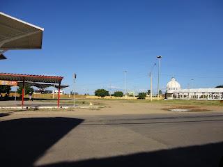 Área da Praça do Marco Zero em Juazeiro do Norte.