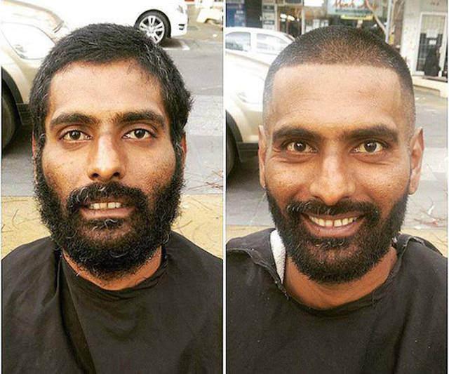 O barbeiro que cuida dos sem-abrigo