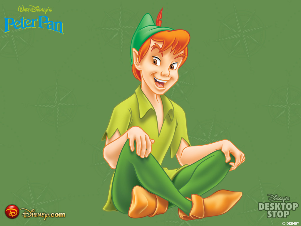 the character of peter pan One of the characters most frequently kidnapped by writers, dramatists, and  filmmakers is james barrie's peter pan as a result he and his.