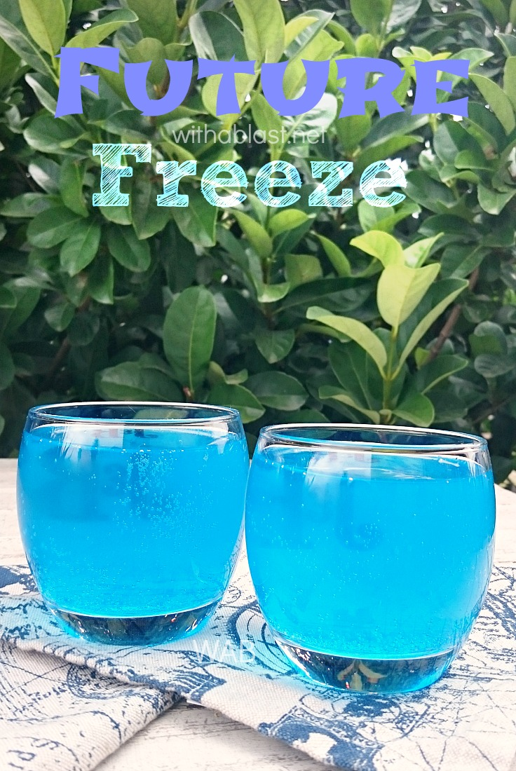 Future Freeze (Cocktail) ~ This refreshing, smooth Future Freeze Cocktail would be perfect as a sunset drink, or when lounging around the pool !