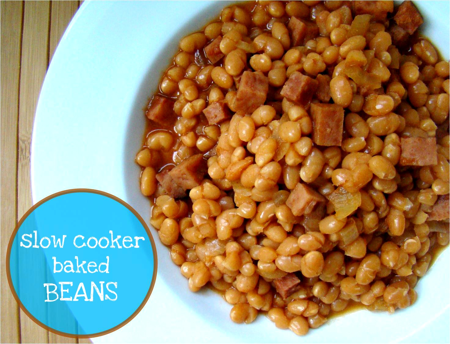 Family Feedbag: Slow cooker baked beans with ham