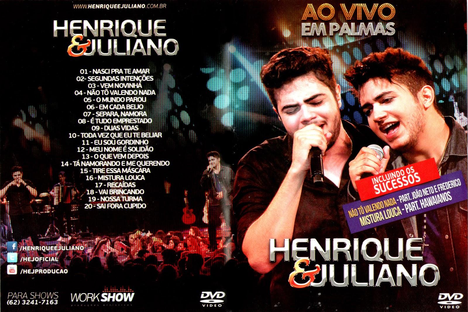 Henrique & Juliano Ao Vivo em Palmas DVDRip XviD 2014