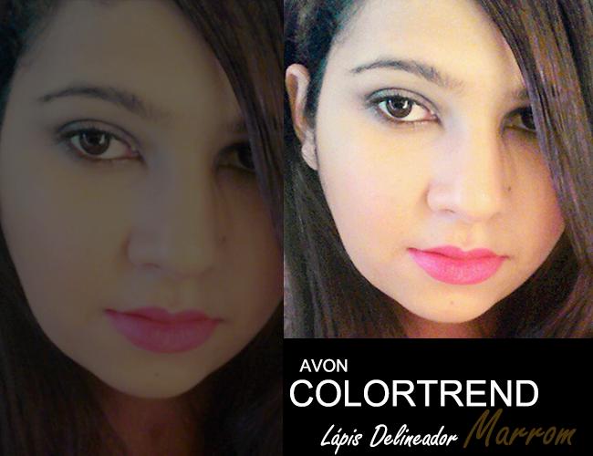 Lápis Delineador Color Trend da Avon Marrom