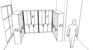 furniture jawa tengah Lemari Arsip Dokumen Kantor Besar Dengan Pintu Kaca