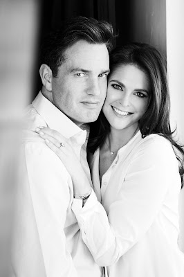 H.R.H. Princess Madeleine and Mr Christopher O'Neill