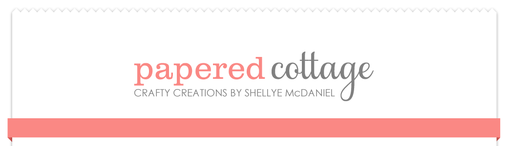 Papered Cottage by Shellye McDaniel