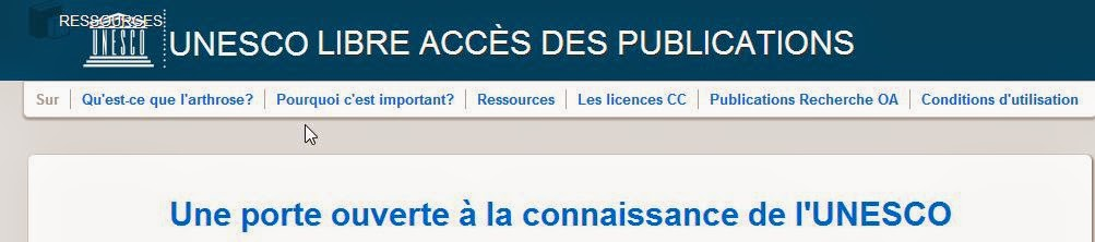 UNESCO ACCES DES PUBLICATIONS