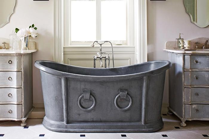 Vasca Da Bagno Di Zinco : Mobile da bagno