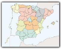 Mapa político puzle