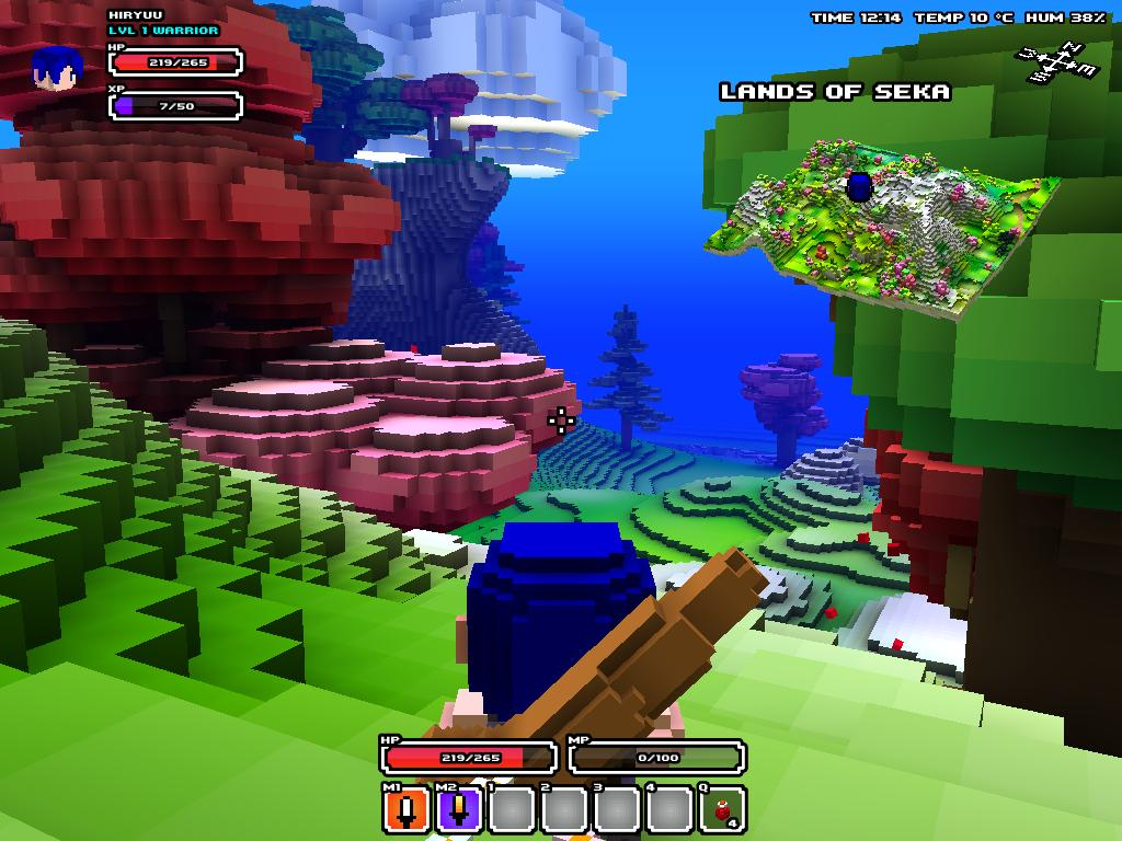 how to download and play cube world