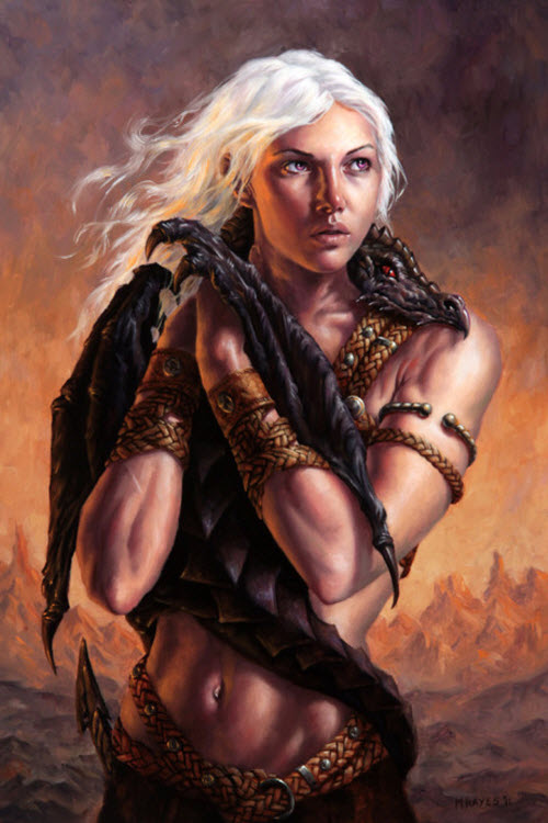 Lo mejor de Game Of Thrones Art: Daenerys Targarien