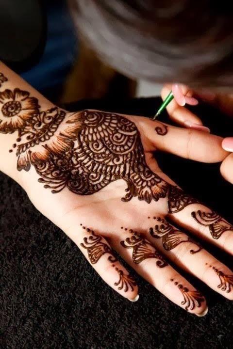 Nice Mehndi Patterns : Mehndi design nice makedes