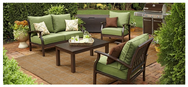I Just LOVE The Green Cushions !! And The Color Of The Chairs. I Had To  Have It...but The Price Just Wasnu0027t Right... Yet... And We Have A Nice Set  Already.