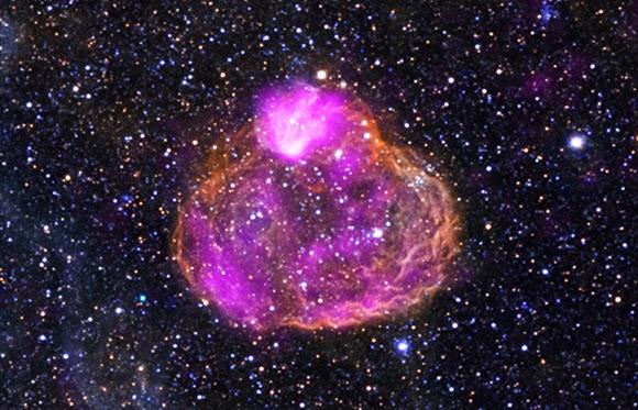 Суперпузырь DEM L50 (N186), Большое Магелланово облако