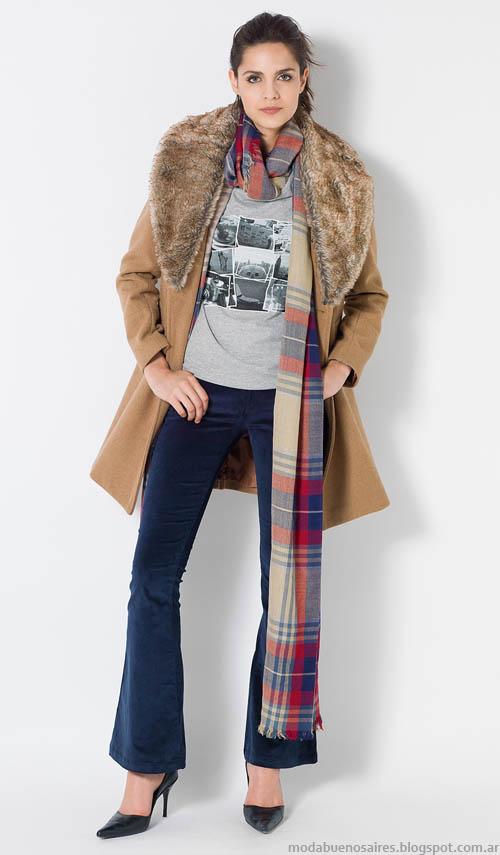 Tapados 2014, moda invierno 2014 Yagmour.