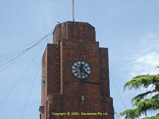 Rockdale Town hall clock tower
