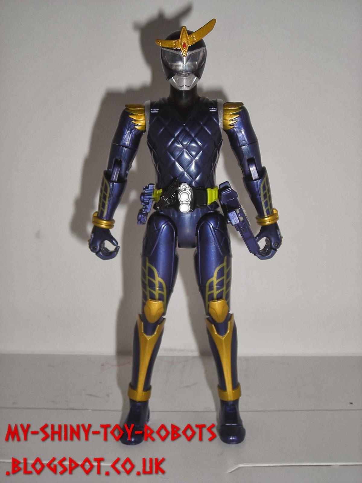 A rather naked looking Kamen Rider Gaim