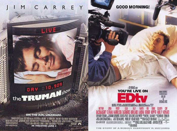 22. The Truman Show | EDtv – 1998/1999