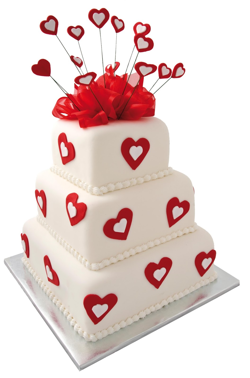 Valentine S Day Cake Toppers