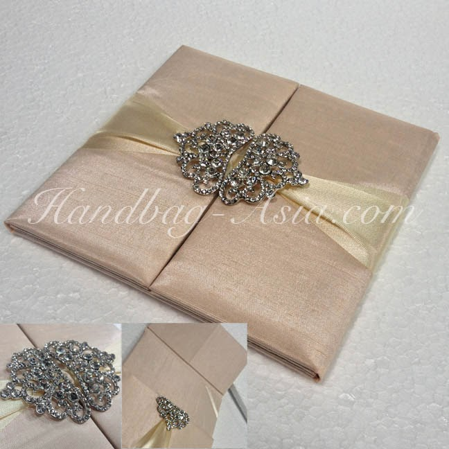 Wedding Invitation Boxes Silk Invitation – Luxury Wedding Invitations in Boxes