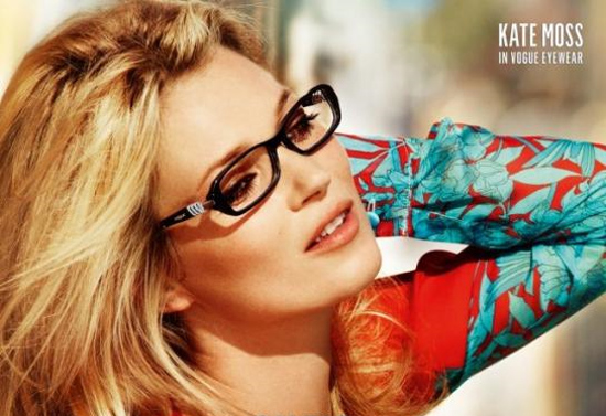 Kate Moss égérie Vogue Eyewear