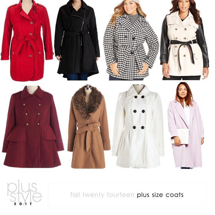 plus size coats