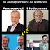 Elecciones del Consejo de la Magistratura de la Nación 2014 por el estamento ABOGADOS DEL INTERIOR DEL PAÍS (Andreucci, Piedecasas, Grau, Alvarado Velloso)