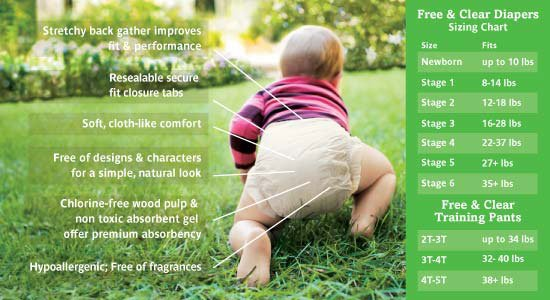 ECO-friendly Baby Diaper