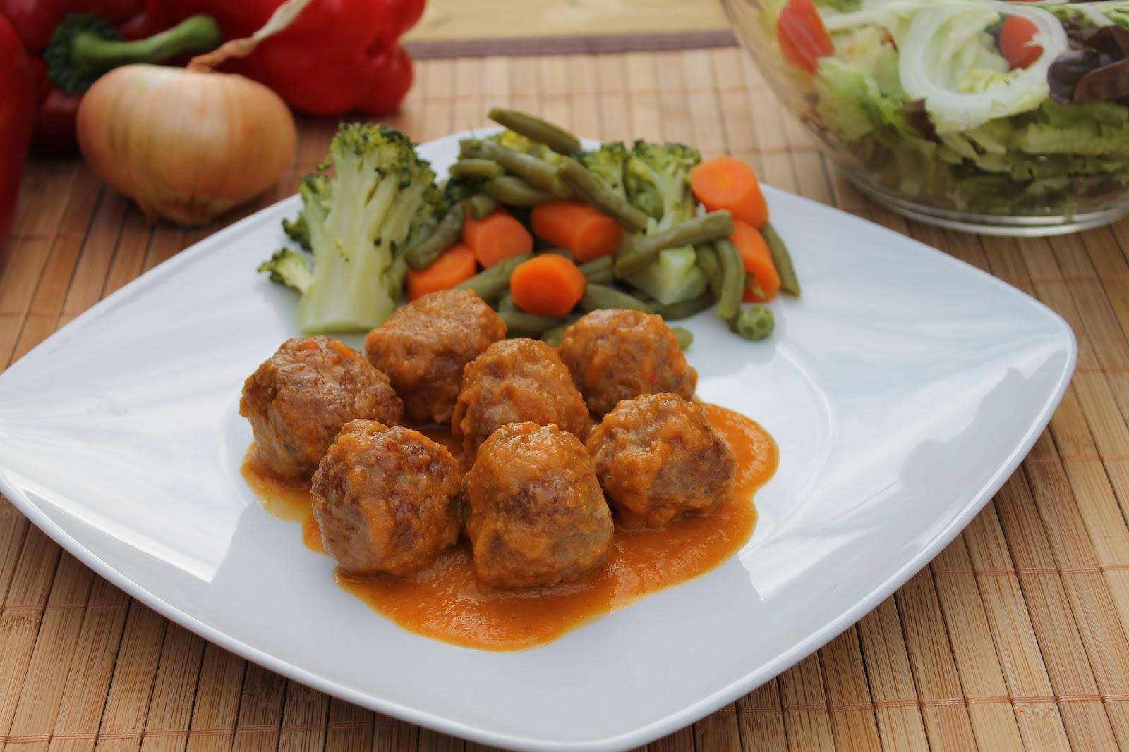 Albondigas con verduras el jard n de mis recetas - Albondigas de verdura ...