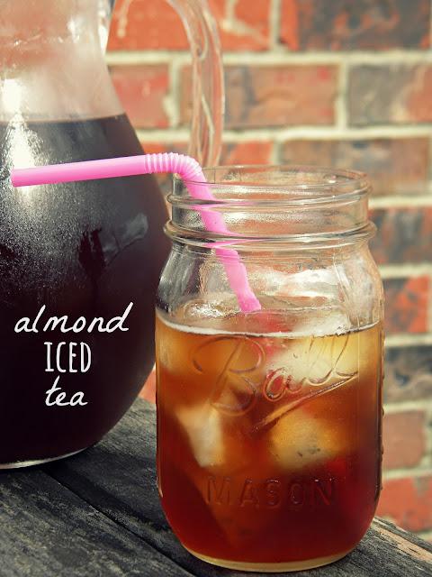 Almond Iced Tea | Iced Tea Recipes That Will Rock Your Summer | lemon iced tea recipe