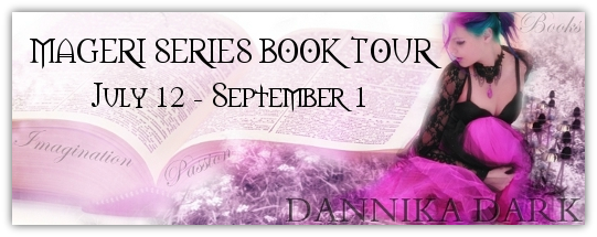 The Mageri Series Book Tour: Interview with Dannika Dark & win STERLING