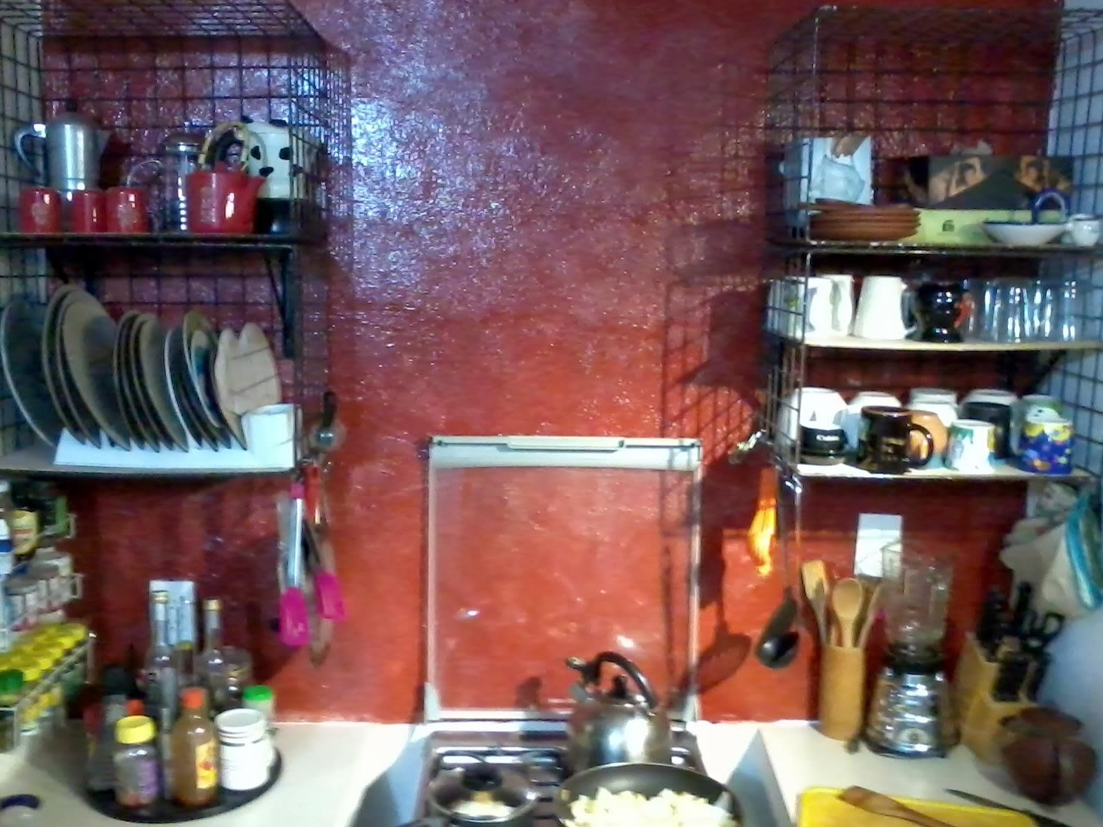 Mi cocina estantes de reuso y decoraci n de barra - Material de cocina ...