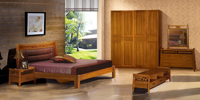 Light Wood Bedroom Furniture - 5 Small Interior Ideas