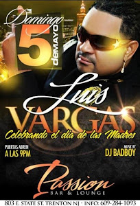 Luis Vargas@Passion Bar & Lounge, New Jersey, USA