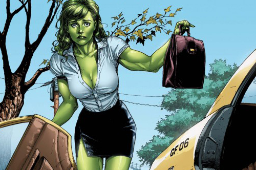 Wups... Marvel's She-Hulk Sensational (2010) #1, Released: March 31st, 2010, Penciller: Gary Frank