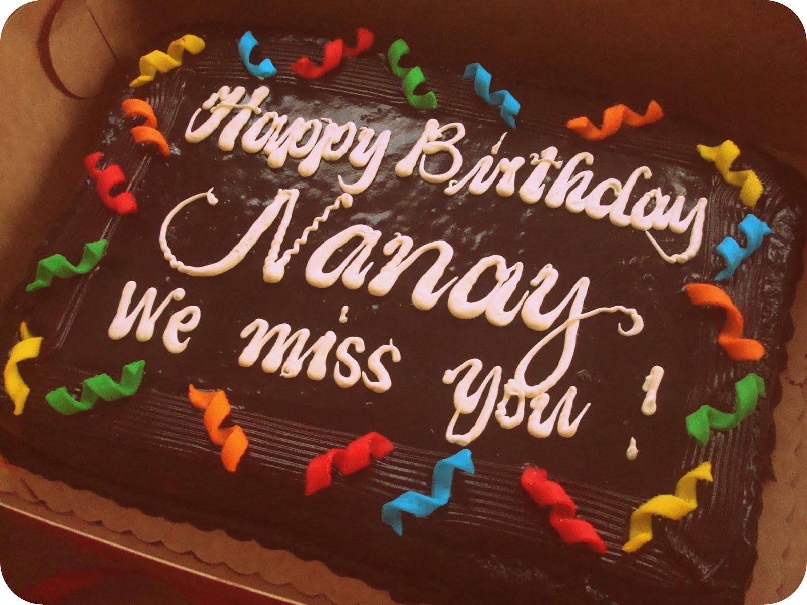 Happy Birthday Nanay We Miss You Marksablan Com