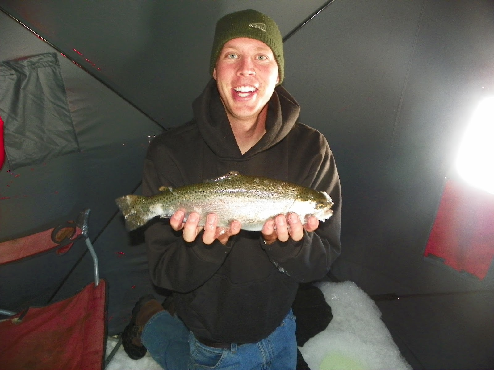 fishing reports utah panguitch lake utah ice fishing feb