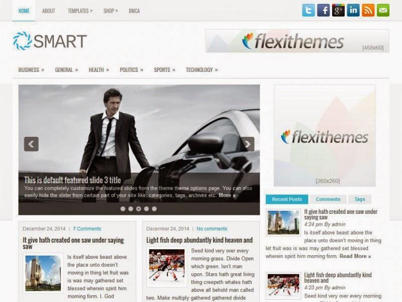 Smart - Free Wordpress Theme