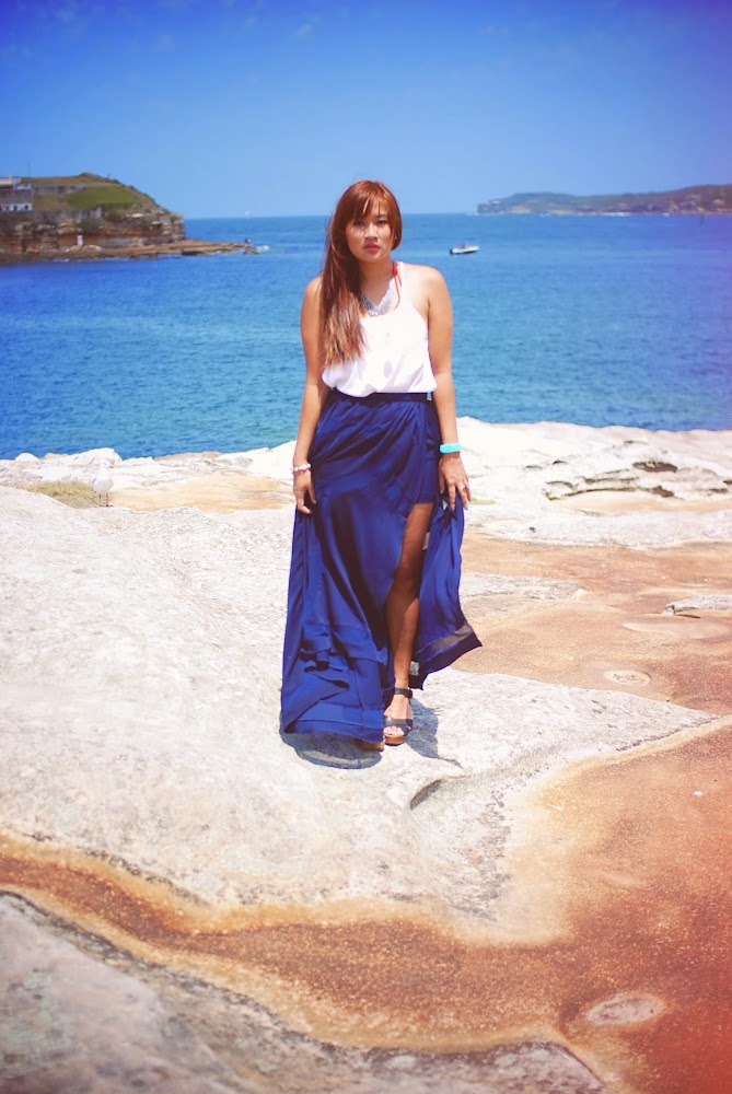 Finders Keepers Maxi Skirt Supre Singlets