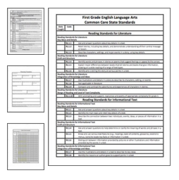 Download Common Core Checklists