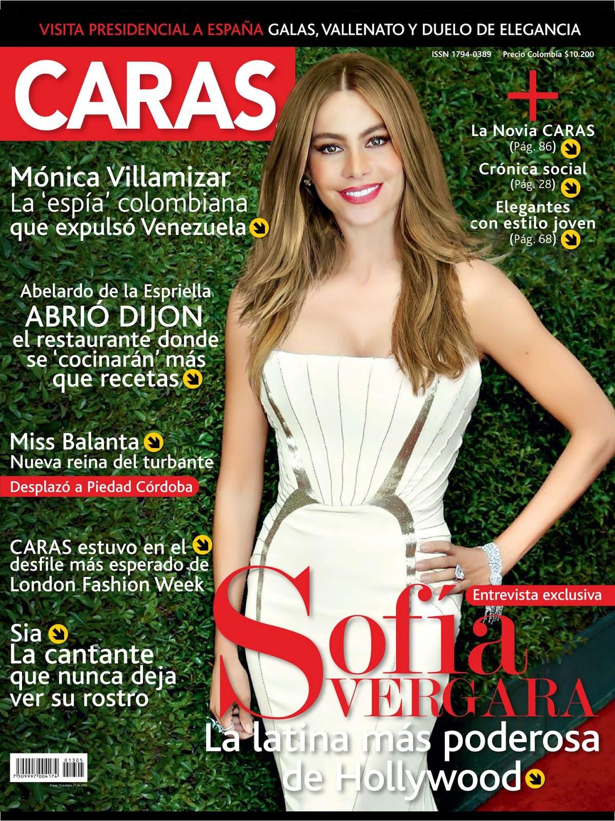 Actress,  Model @ Sofía Vergara - Caras Magazine March 2015