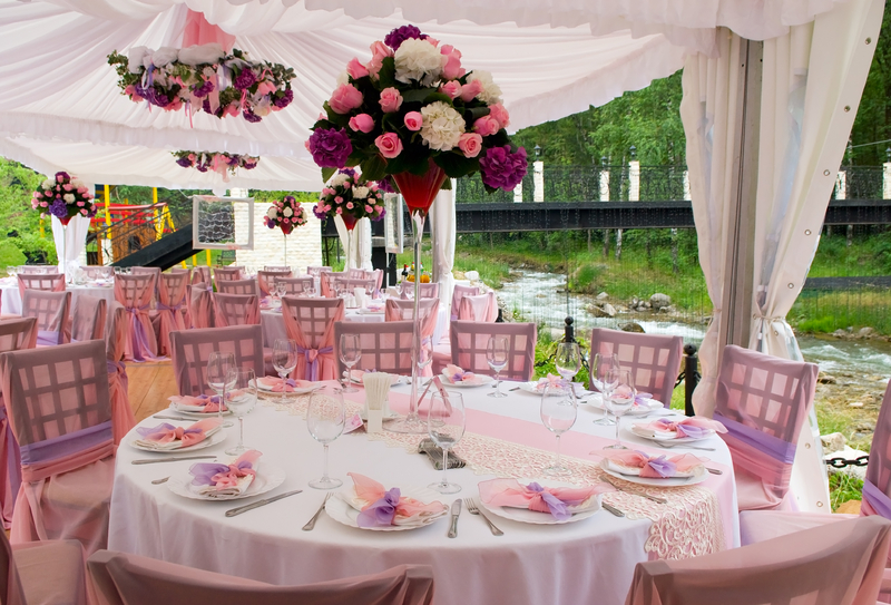 Weddingzilla photo essays wedding ideas for Outdoor wedding reception ideas