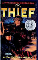 bookcover of THE THIEF (Newbery Honor 1997) (The Queen's Thief #1 ) by Megan Whalen Turner