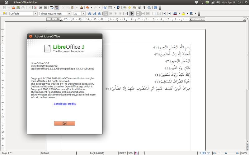 QiOO di LibreOffice 3.3.2
